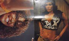 WWE TNA Divas Shelly Martinez & Layla 2 x DIN-A3 POSTER WWE WWF Wrestling