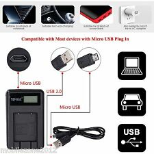 SLB-10A Camera battery charger & USB cable Samsung L100 L110 L200 L201 L210 L310