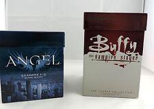 Buffy and Angel DVD Box Set Lot Complete Series VGC BTVS AtS Joss Whedon
