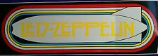 "☆☆☆☆☆☆☆☆☆☆☆☆☆☆☆☆3"" x 9"" Bold Led Zeppelin Bumper Sticker☆☆☆☆☆☆☆☆☆☆☆☆☆☆☆"