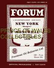 1928 FORUM PROGRAM COVER PHOTO 8X10
