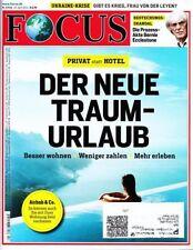 FOCUS Magazin 17/2014 vom 19.04.2014 | Der nere Traumurlaub