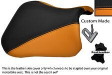 Naranja Y Negro 04 desde 05 Personalizados Para Suzuki Gsxr 600 750 delantera cubierta de asiento