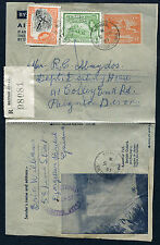 BRITISH GUIANA: (12809) Paignton/Falls/registered AIR LETTER