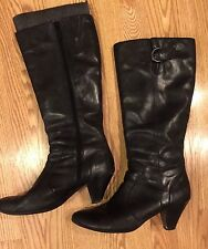 BØRN B.Ø.C. Ladies Leather Boots Size 11/ 43 pre-owned