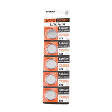 5 CR2025 CR 2025 DL2025 BR 2025 3 Volt Button Cell Battery USA 3V Hot Sale AE