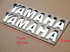 3D Chrome Decal Stickers For YAMAHA Gas Fuel Tank Fairing Emblem Motorcycles