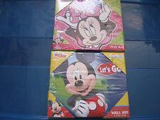Two Disney Junior Mickey and Minnie Mouse Wall Art