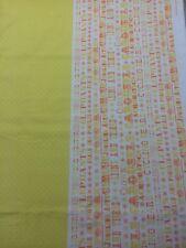 Couette 100% coton tissu par 1/2 mtr benartex sous le chapiteau cirque Fun Jaune