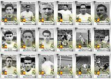 Real madrid coupe d'europe des vainqueurs de football 1960 trading cards