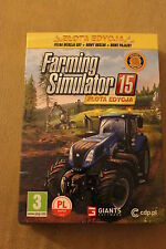 FARMING SIMULATOR 15: ZŁOTA EDYCJA PC DVD PL POLISH GAME