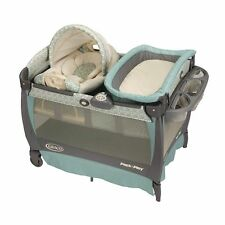 Graco Pack 'N Play PLAYPEN, Cuddle Cove Rocking Seat PLAY YARD, Winslet