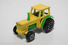 MAJORETTE TRACTEUR TRACTOR GREEN YELLOW GOOD CONDITION