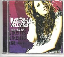 (GK180) Misha Williams, Take It Like It Is - 2006 Sealed CD