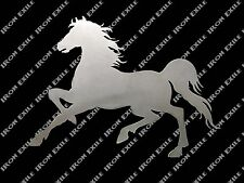Horse Prancing Stallion Equine Farm Ranch Barn Western Metal Wall Art Gift Idea