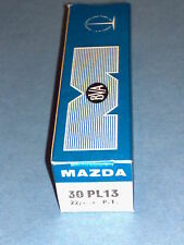 30PL13 MAZDA NEW IN BOX VINTAGE VALVE TUBE * FULLY TESTED 100% * MINT CONDITION