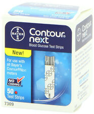 Bayer Contour Next Blood Glucose 50 Test Strips Best Offer EXP: 05/2018 --GREAT-