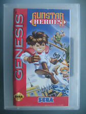 Gunstar Heroes Sega Genesis 1993 with Manual