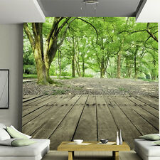 3D Wallpaper Bedroom Mural Modern Embossed forest Study Room TV Background Wall