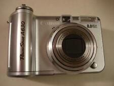 Very Good Canon Powershot A630 8MP Digital Camera