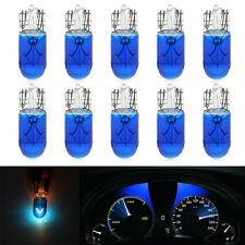 10x T10 T5 5W 12V LED Light Motorcycle Car Interior Halogen Instrument Bulb Lamp