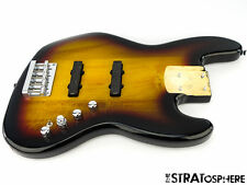 LOADED Fender Squier Deluxe Active Jazz Bass BODY 5 String 3 Color Sunburst SALE