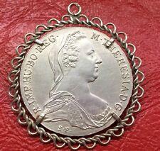 Münzanhänger Maria Theresia Taler Silber