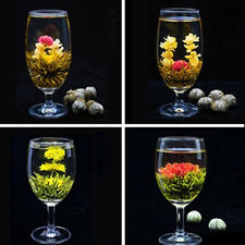 4 Balls Different Handmade Blooming Health Flower Green Tea for Home up-to-date