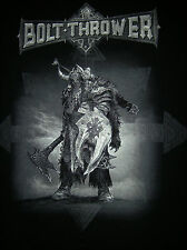 BOLT THROWER - Overtures Of War 2014 Tour Shirt XL Cannibal Corpse Immolation
