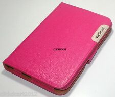360°Rotate Leather Case W/ Screen Protector For Samsung P6800 P6810 Galaxy Tab