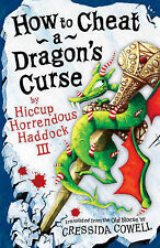 How to Cheat a Dragon's Curse (Hiccup) Cressida Cowell Very Good Book