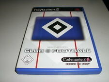 HAMBURGER SV HSV CLUB FOOTBALL PLAYSTATION 2 PS2 SPIEL