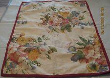 New (2) Ralph Lauren Chaps Floral Standard Pillow Shams 20x26 100% Cotton