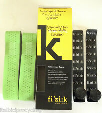 1x Fizik Team Cannondale Green Vented Microtex Handle Bar Tape Free Tracked Post
