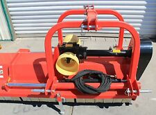 """Flail Mower/Mulcher 71"""" w/Hydraulic Offset ~Cat.I/II 3pt 40+HP Rating (FH-AG180)"""