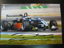 Photo ATS F3 Cup 2007 #8 Carlo van Dam (NED) Champ Cars Grand Prix Assen signed