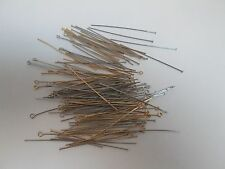 HEAD & EYE PINS SILVER AND GOLD MIXED 360 PIECES by Mainstays Crafts