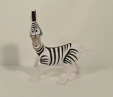 "2008 Marty Zebra 4.25"" McDonald's Action Figure #2 Madagascar Escape 2 Africa"