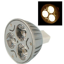 3 * 1W MR16 GU5.3 LED Gluehlampe 3W 12V - Warm Weiss GY