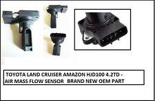FOR TOYOTA LAND CRUISER AMAZON 4.2TD / HDJ100 MAF AIR MASS FLOW SENSOR 08/2001+