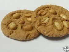 NEW ITEM Homemade PEANUT BUTTER COOKIES With Added Salted Roasted Peanuts