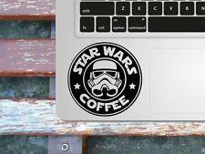 Star Wars Coffee Macbook palmrest decal / Laptop sticker / fun decal stencil