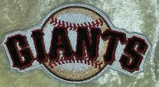 "San Francisco SF Giants 3.5"" Iron On Embroidered Patch ~FREE Ship!!~"