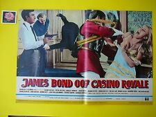 F124 007 FOTOBUSTA ORIGINALE JAMES BOND, CASINO ROYALE, 1° EDIT. 1967