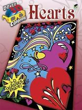 3-D Coloring Book--Hearts Dover 3-D Coloring Book