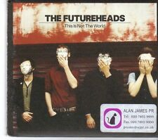 (FD713) The FutureHeads, This Is Not The World - 2008 DJ CD