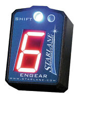 Starlane Engear Gear Indicator w/ Shift Light for Kawasaki ZX6R Z750 and Z1000