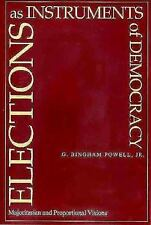 Elections as Instruments of Democracy: Majoritarian and Proportional V-ExLibrary