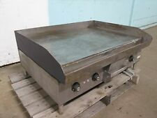 """HOBART CG58 "" HEAVY DUTY COMMERCIAL 36"" ELECTRIC (3 Ph) FLAT TOP GRILL/GRIDDLE"