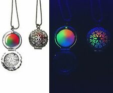 Rainbow Magic Fairy Star Glow in the Dark Round Locket Necklace